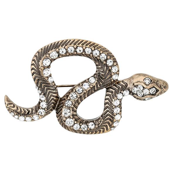 Brosche - Sneaky Snake