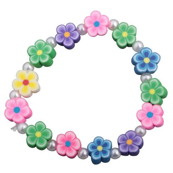 Kinder Armband - Blumen