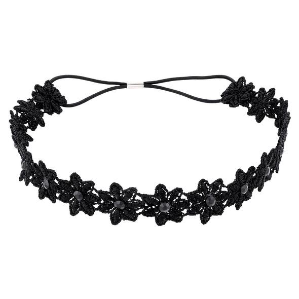 Haarband - Venezian Black