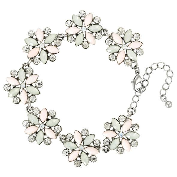 Armband - Mint Flower