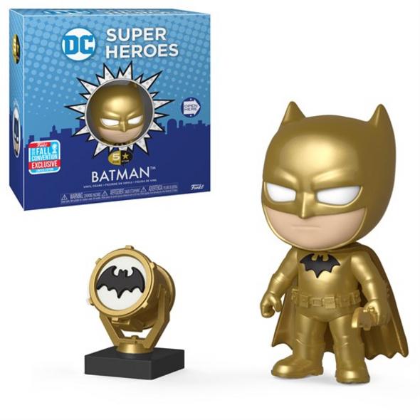 Batman - 5 Star Vinyl Figur Batman Gold