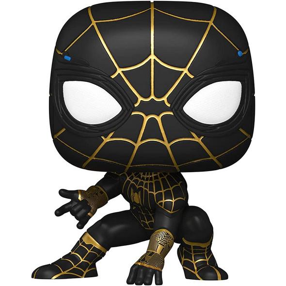 Marvel Spider-Man - POP!-Vinyl Figur Schwarz-Gold (No Way Home)