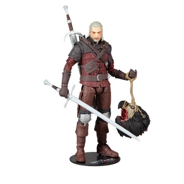 The Witcher 3: Wild Hunt - Actionfigur Geralt