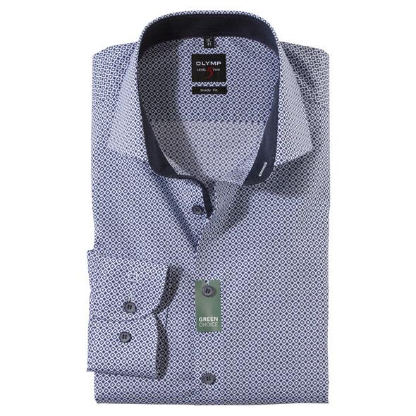 OLYMP Level Five Hemd, body fit, Royal Kent