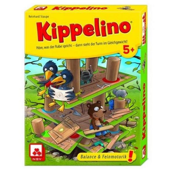 Kippelino, Geschicklichkeitsspiel, Stapelspiel, Familienspiel