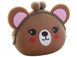 Kinder Portemonnaie - Braunbär