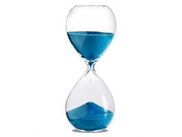 Sanduhr 'Time Out' 10 Minuten, türkis